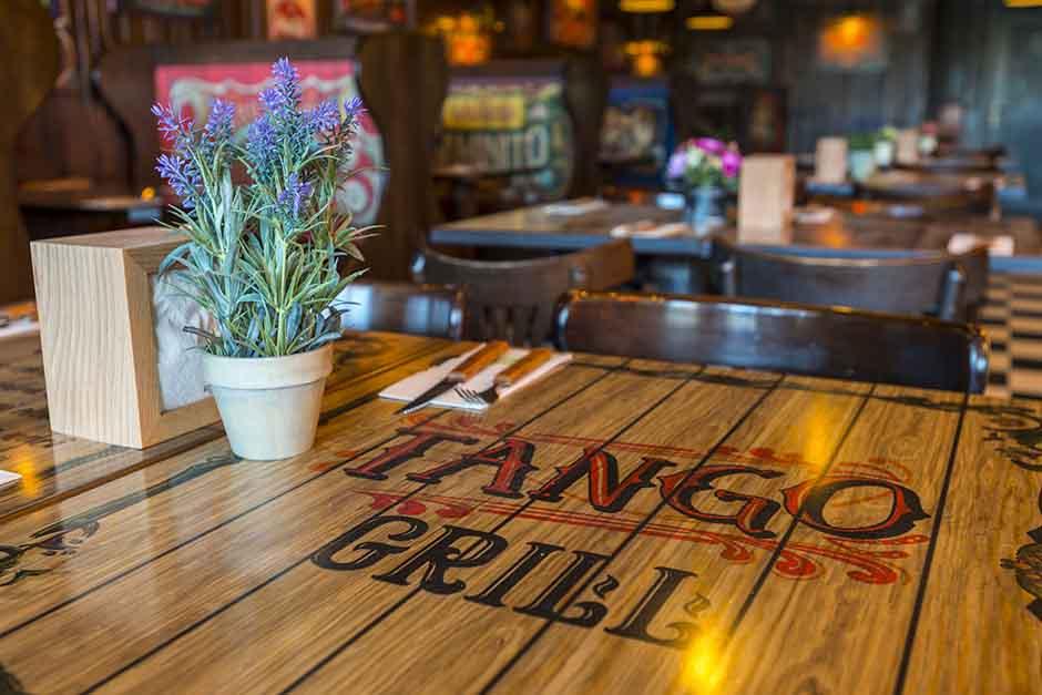 Tango Grill Barcelona planta